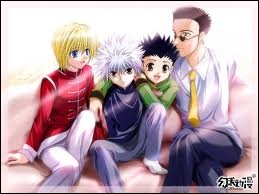 Les personnages de ce manga font partie de  Hunter x Hunter .