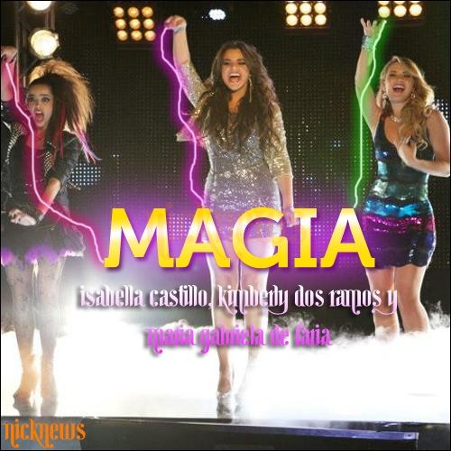 Comment s'appelle la chanson que Grachi, Mathilda et Mia entonnent ?