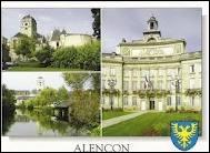 Je commence par une visite de la ville d'Alençon, où les habitants se nomment les ...