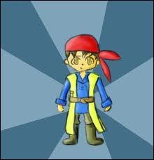 Que peut-on choisir comme arme pour le héros dans Dragon Quest 8 ?