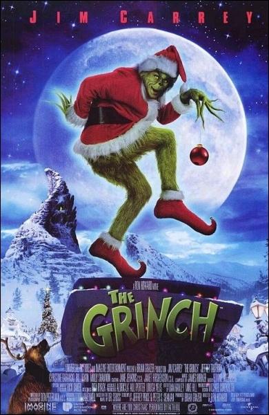 En quelle année le film  Le Grinch  est-il sorti ?