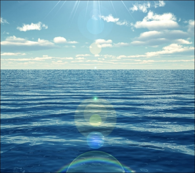 Comment se traduit  la ligne d'horizon  en anglais ?