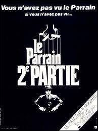 Marlon Brando a joué dans  Le Parrain, 2e partie .