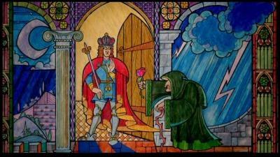 Dans  La Belle et la Bête , que demande la vieille femme au Prince en échange de sa rose ?