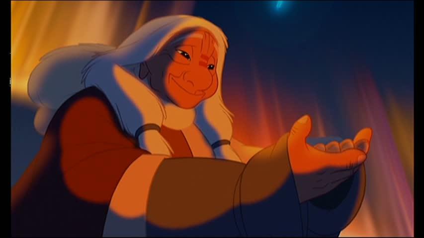 Dans quel dessin animé rencontre-t-on une chaman ?