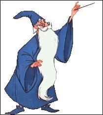 Quel est le dernier animal en lequel Merlin l'enchanteur se transforme lors de son duel avec Mme Mim ?