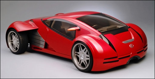 Cette voiture Lexus est une voiture ...