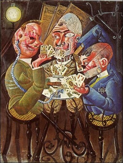 En revanche, les artistes qui ne correspondent pas à l'idéal nazi sont persécutés et leurs toiles sont exposées en 1937 sous le titre ...