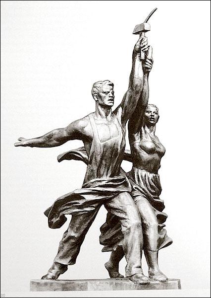 L'art soviétique représente surtout ...