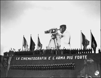 Les films de propagande fascistes sont réalisés dans par L. U. C. E (l'union cinématographique éducative) dans des studios créés par Mussolini :