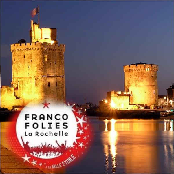 Quel homme de radio né dans cette ville, est le créateur des  Francofolies  de La Rochelle en 1985 ?