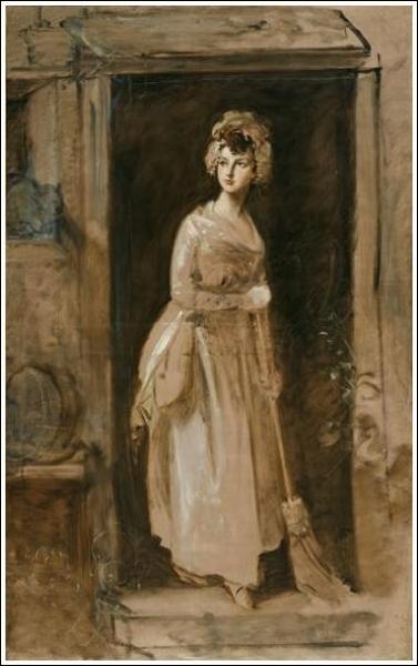 Qui a peint La femme de chambre ?