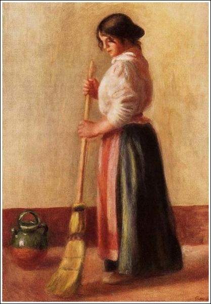 Qui a peint La balayeuse ?