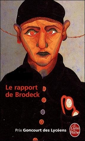 Quel auteur écrit  Le Rapport de Brodeck  ?