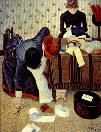 Qui a peint Les modistes ?