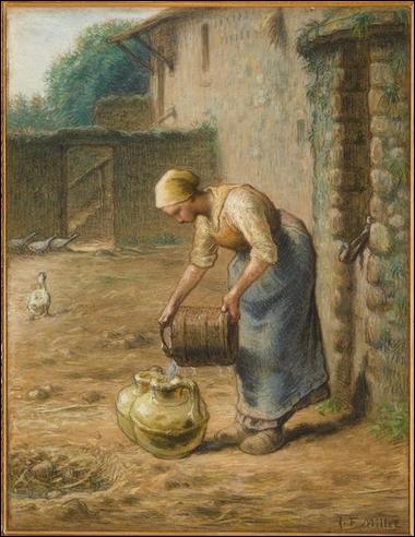 Qui a peint La femme au puits ?