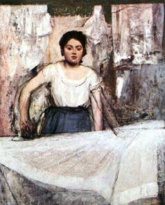 Les travaux féminins en peinture