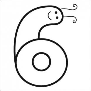 Un 6 + un 6 + encore un 6 ça fait 666, non ? Ça fait plutôt 18 mais Pierrot n'a pas d' :