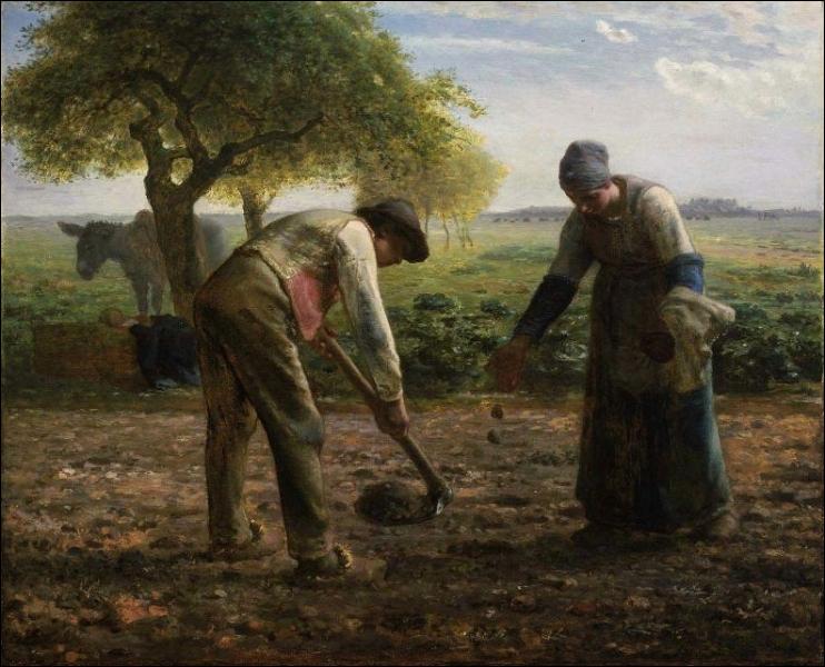 Quizz les travaux des champs en peinture quiz peintres for Les travaux de peinture