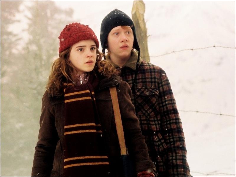 Quels sont les prénoms de ceux de Ron et Hermione ?