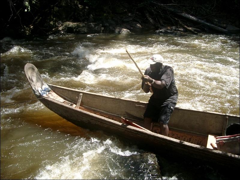 Le fleuve qui sépare la Guyane du Suriname s'appelle l'Oyapock !