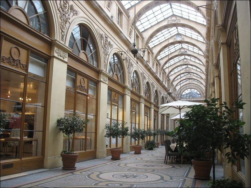Ouverte au public en 1826, ce lieu est l'un des fleurons des passages couverts qui se multiplient au début du XIXème siècle.