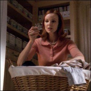 À qui appartient le préservatif découvert par Bree ?