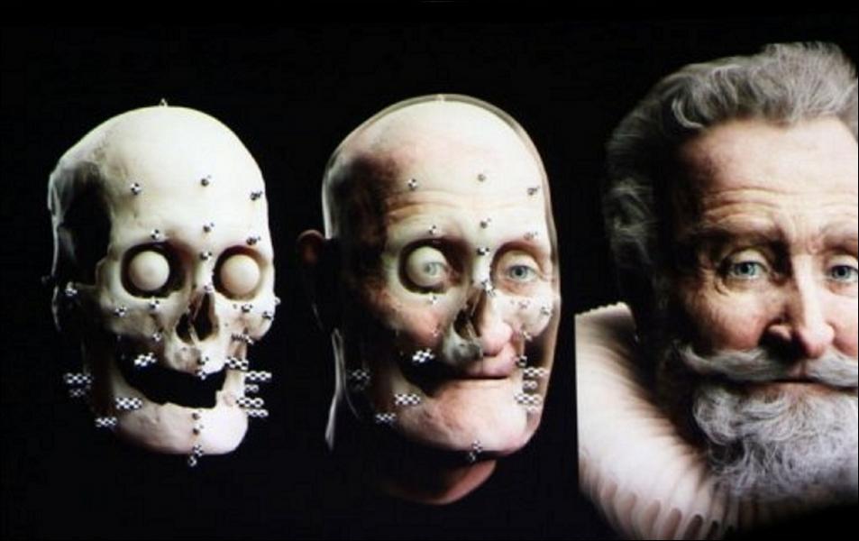 Quel est ce roi de France dont le visage a été reconstitué à partir de sa propre tête momifiée ?