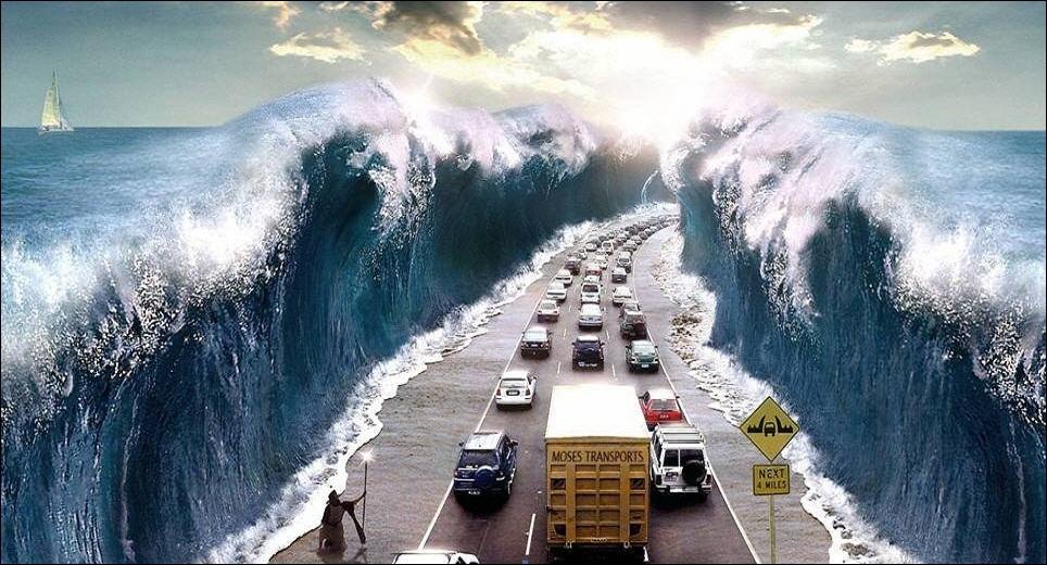 Quelles eaux Moïse a-t-il écartées afin de libérer le peuple israëlite de la servitude à laquelle il était soumis en Égypte ?