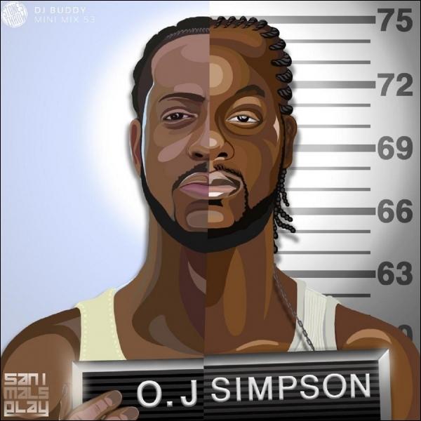 À quelle peine, le joueur de football américain O. J. Simpson fut-il condamné en 2008 pour enlèvement et vol à main armée longtemps après l'affaire du meurtre de son ex-épouse et de son compagnon ?