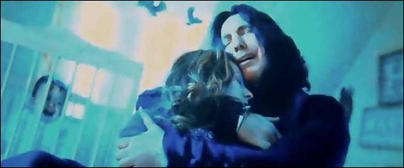 Quels sont les derniers mots de Severus Rogue avant de mourir ?
