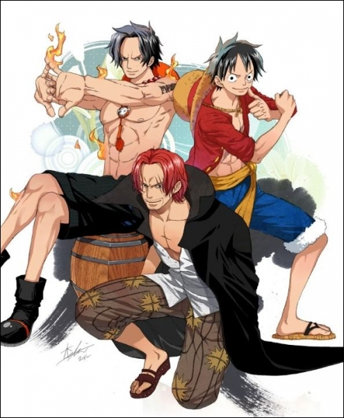 Rencontre luffy shanks