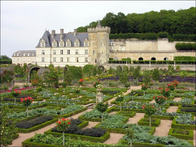Il est le dernier né des châteaux Renaissance du Val de Loire. Ses jardins ornementaux sont considérés comme étant parmi les plus beaux d'Europe.