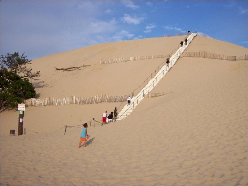 Son nom gascon signifie «tas» et c'est bien ce qu'elle est, un amas mouvant de sable. Celle qui se dresse fièrement au-dessus de l'océan vert des pins est la plus haute dune d'Europe.
