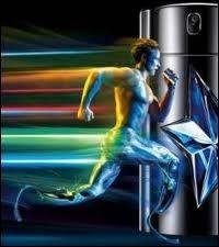 Quel athlète paralympique fut le temps d'une publicité l'égérie de la marque de parfum Thierry Mugler ?