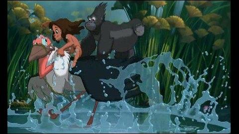 Pendant quelle chanson de  Tarzan  pouvons-nous voir cette image ?