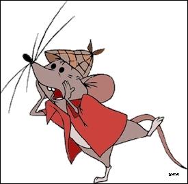 Comment s'appelle cette petite souris ? (Les Aristochats)