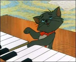 Comment se prénomme ce chaton ? (Les Aristochats)