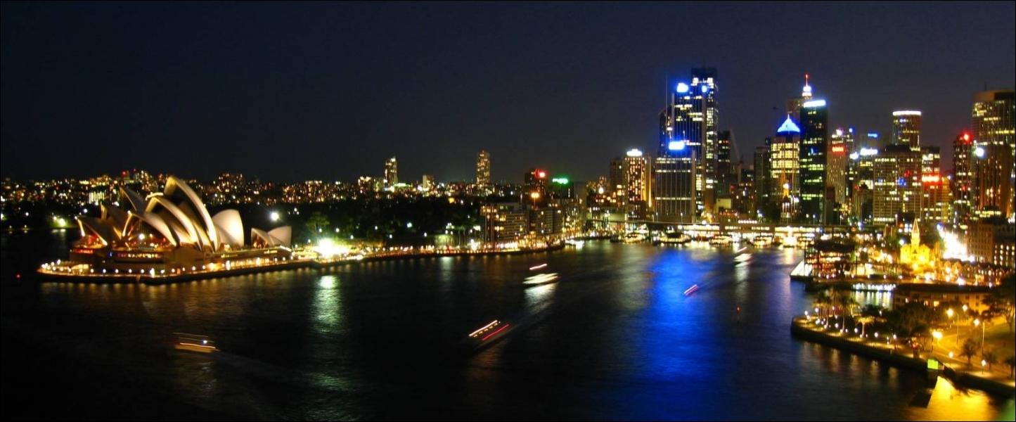 Sydney est la capitale de l'Australie.