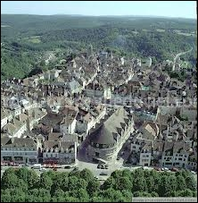 Attribuez la région d'appartenance de la ville d'Avallon.