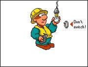 Les électriciens ...