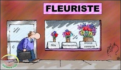 Chez les fleuristes ...