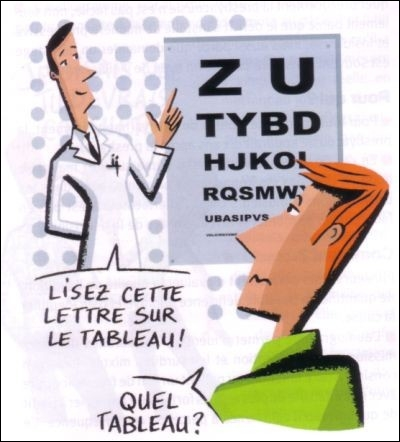 Les ophtalmos ...
