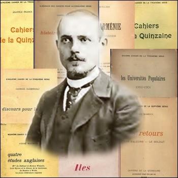 Quel écrivain créa en 1900 la revue littéraire bimensuelle d'inspiration dreyfusarde  Les Cahiers de la Quinzaine  ?