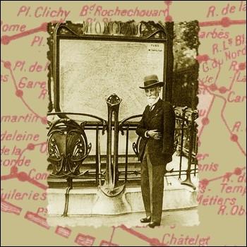 Construite par l'ingénieur Fulgence Bienvenue, quelle fut la première ligne de métro inaugurée le 19 juillet 1900 ?