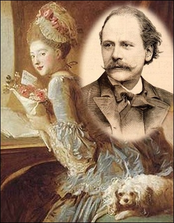 Quel célèbre compositeur de cette époque a créé en 1884 l'opéra-comique  Manon  ?