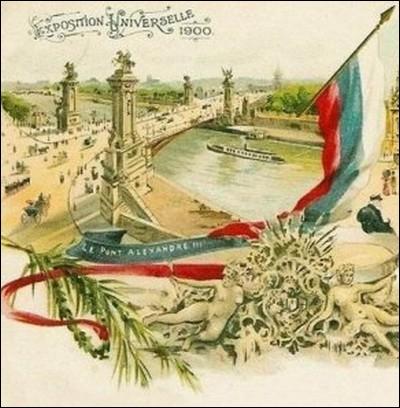 Inauguré pour l'Exposition universelle de Paris en 1900 par Emile Loubet, ce pont sur la Seine était destiné à symboliser l'amitié franco-russe... .