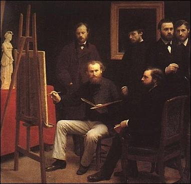 Ce peintre mort en 1883, initiateur de la peinture moderne qu'il libère de l'académisme, fut l'ami des écrivains dont il fit de nombreux portraits... .