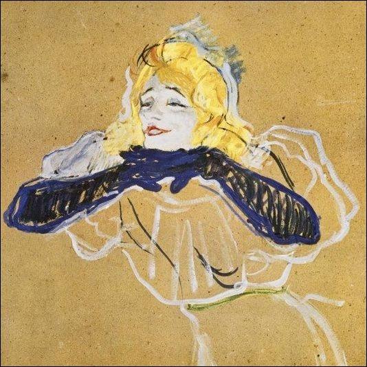 Cette chanteuse de café-concert immortalisée par le peintre Toulouse-Lautrec, fit les belles nuits du célèbre cabaret le Moulin-Rouge... .