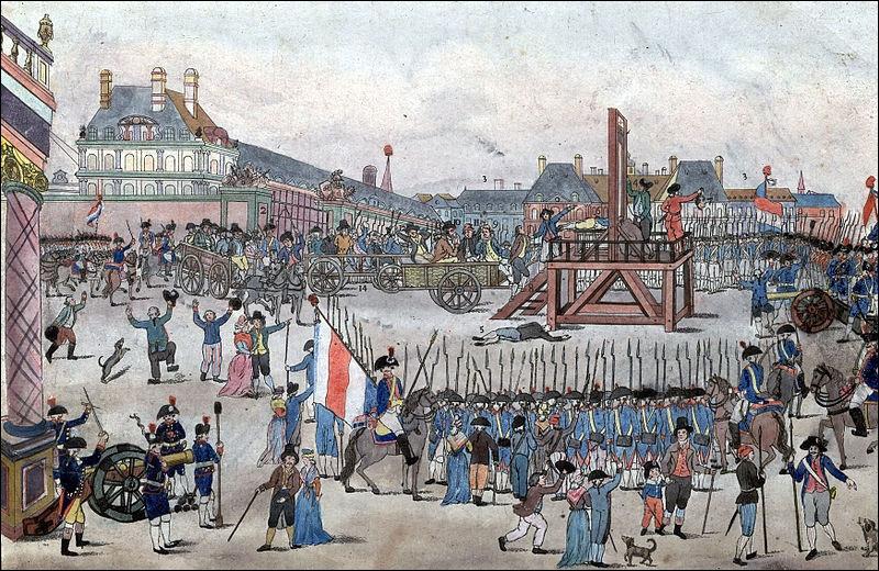 Quel événement, datant du 28 juillet 1794, marque la fin de l'épisode le plus sombre de la Révolution ?